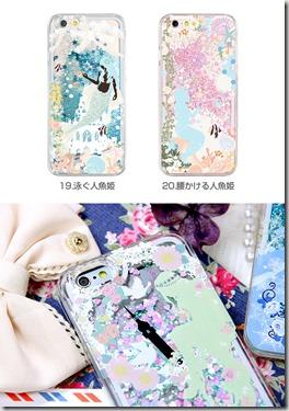 童話デザインキラキラグリッターケース_glcase-fairyデザイン04