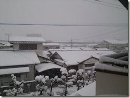自宅雪景色02