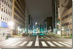 福岡の陥没道路が通行を再開