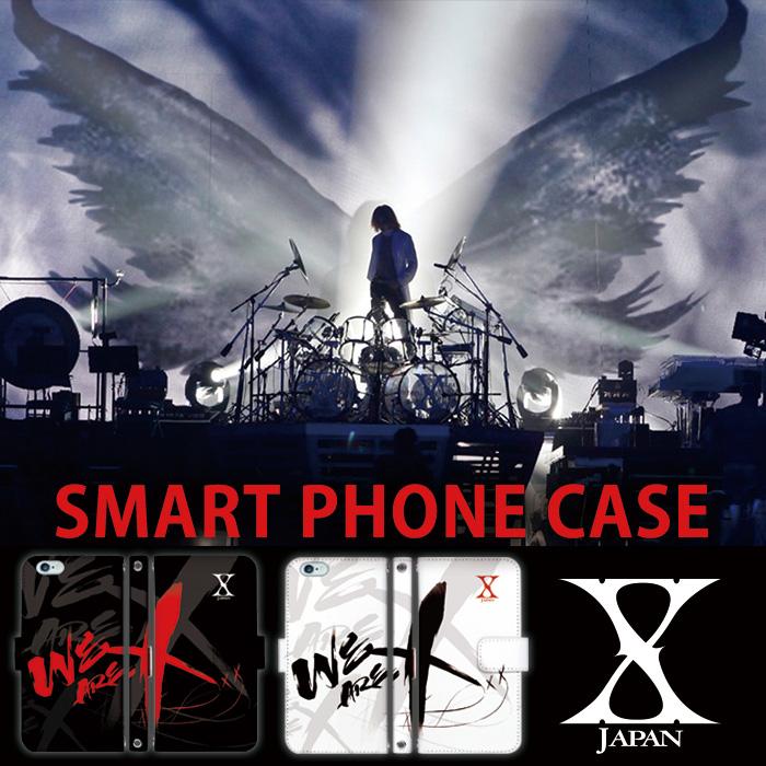 X JAPAN YOSHIKIコラボの手帳型デザインスマホケース[X JAPAN]を発表!