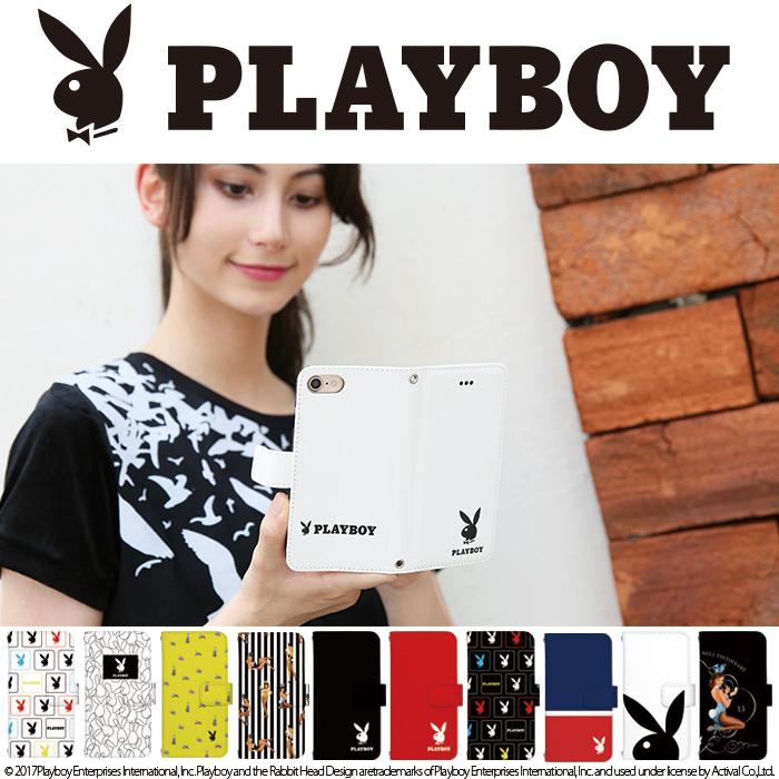 手帳型デザインスマホケース[PLAYBOY(プレーボーイ)]のご紹介!