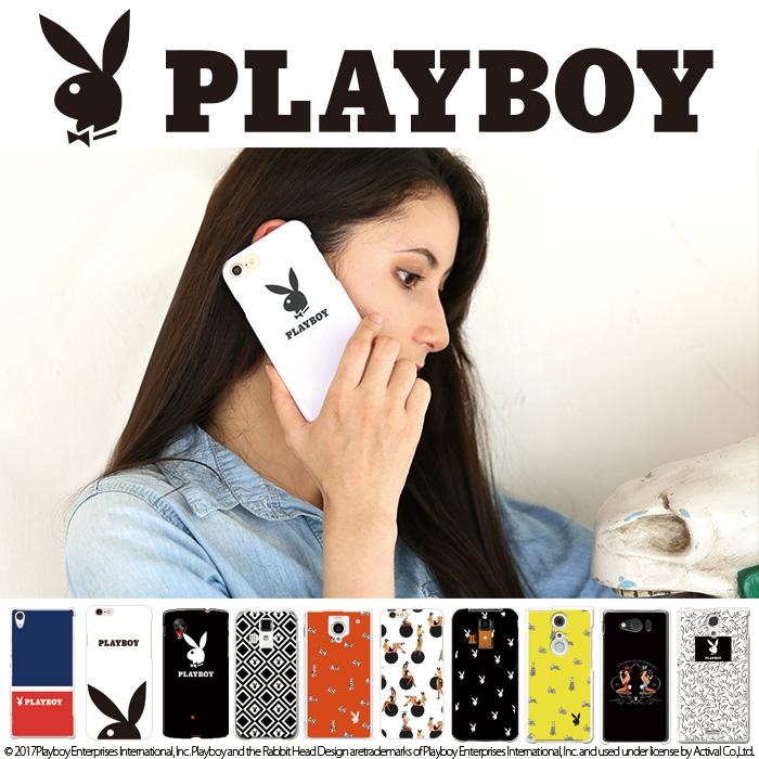 スマホケース「デザインハードケース PLAYBOY(プレーボーイ)」を紹介します。