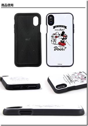 iPhone X_ケース_ディズニー02