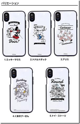iPhone X_ケース_ディズニー03