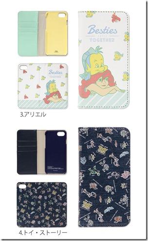 手帳型デザインケース_iPhoneX_ディズニー_04