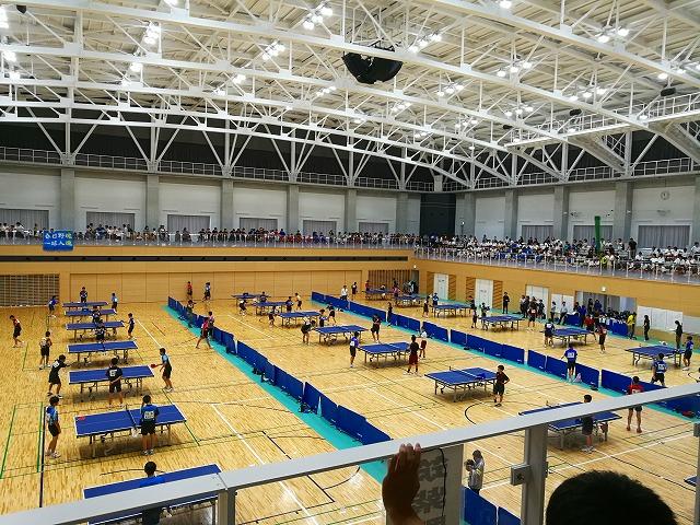平成30年筑紫区中体連卓球競技大会を見に行ってきました。