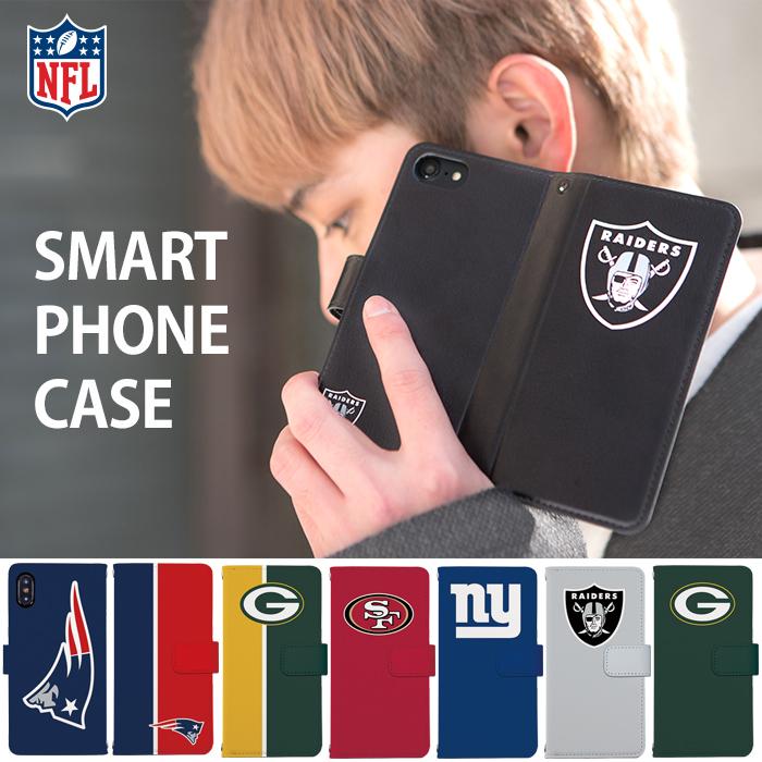 手帳型デザインスマホケース[NFL(アメリカンフットボール)]のご紹介!