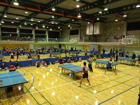 第40回小郡市近郊親善卓球大会に参加。