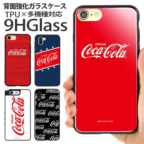 ガラスハイブリッドスマホケース「Coca Cola(コカコーラ)」のご紹介!