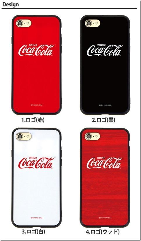 ガラスハイブリッドスマホケース_Coca Cola(コカコーラ)_画像03