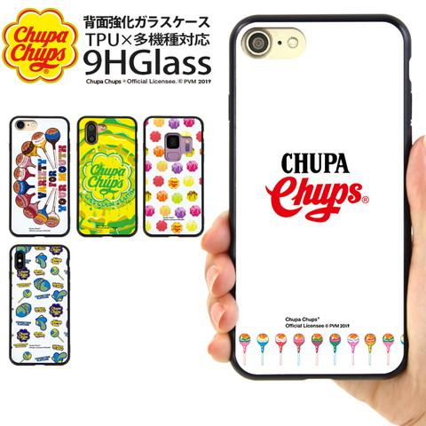 ガラスハイブリッドスマホケース「チュッパチャプス(Chupa Chups) 02」のご紹介!