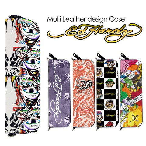 プルームテック(Ploom Teach)&マイブルー(myblu)用ジッパー型デザインケース「エドハーディー 02」を紹介します。