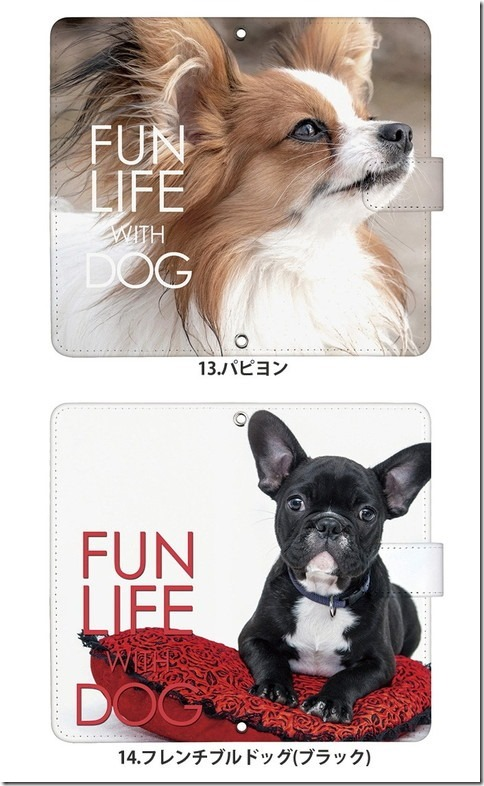 手帳型デザインケース_犬_DOG_画像10