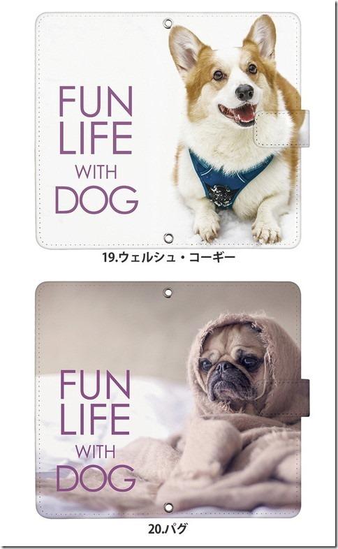 手帳型デザインケース_犬_DOG_画像13
