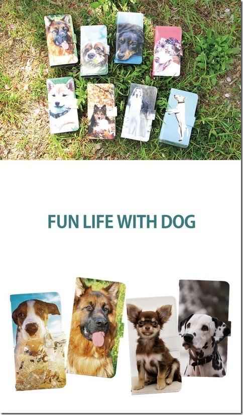 手帳型デザインケース_犬_DOG_画像01