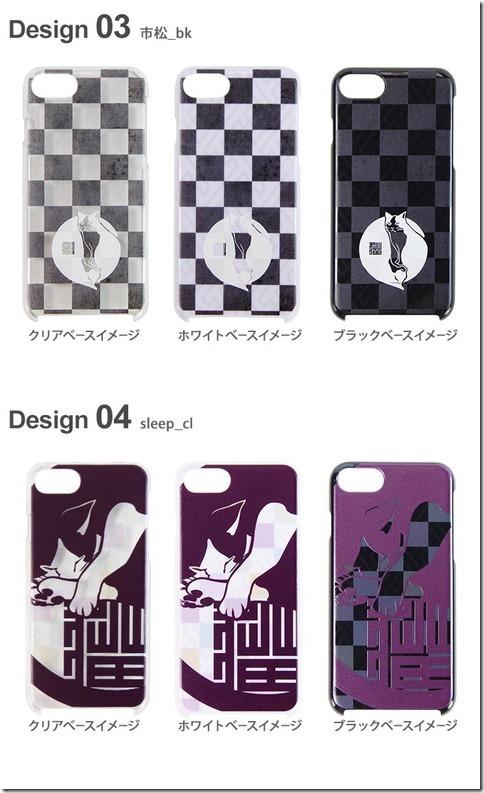 デザインハードケース_市松和猫_画像02