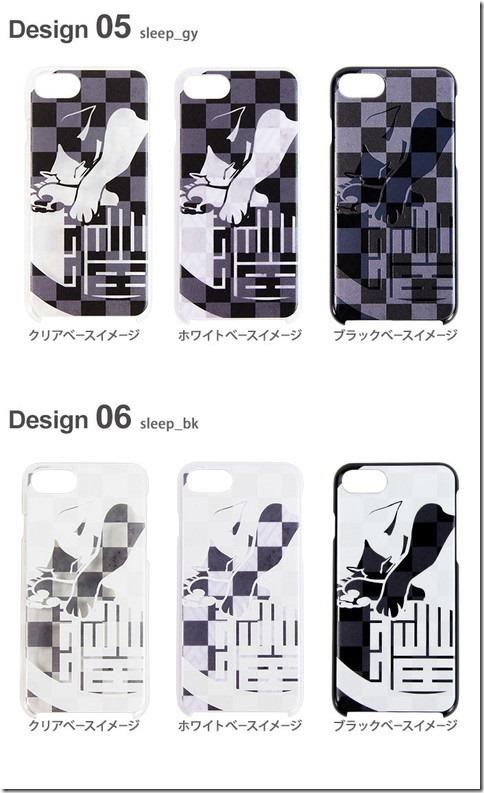 デザインハードケース_市松和猫_画像03