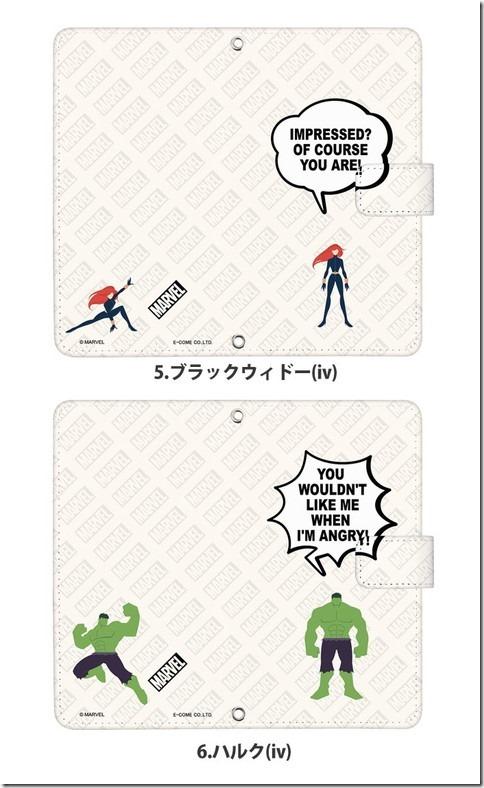 手帳型デザインケース_Marvel_マーベル_02_画像05