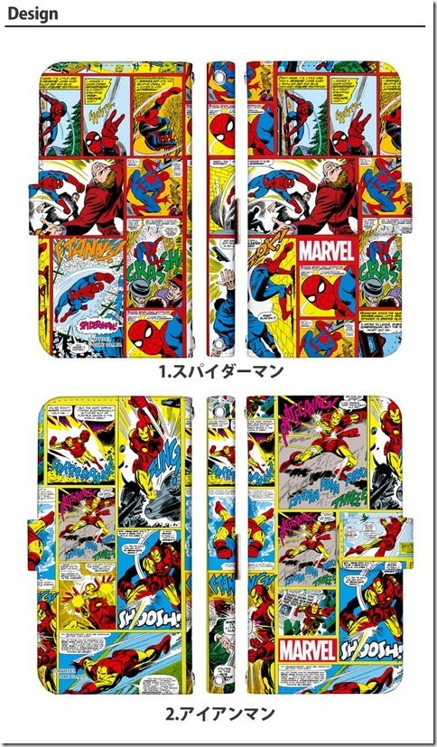 手帳型デザインケース_Marvel_マーベル_03_画像03
