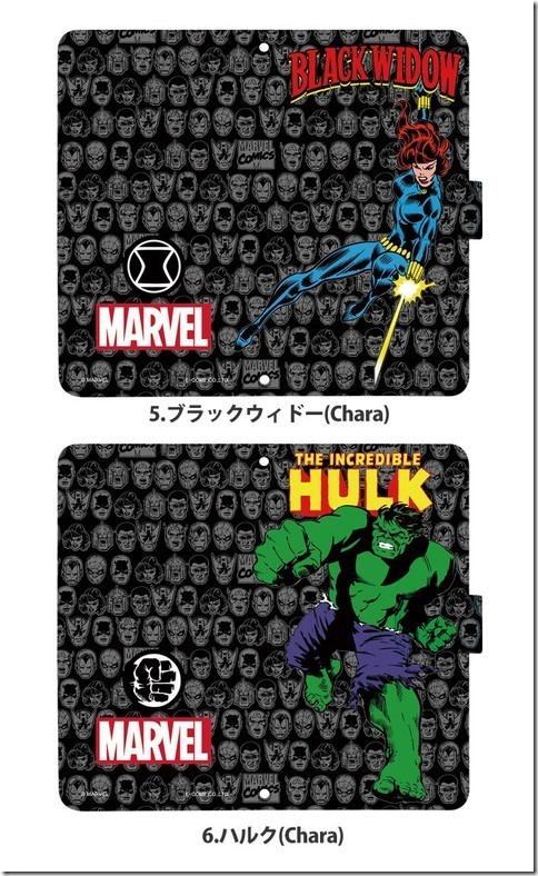手帳型デザインケース_Marvel_マーベル_04_画像05