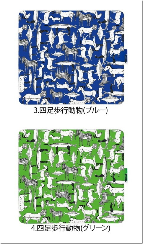 手帳型デザインケース_シャンプーハット_こいで画伯_画像03