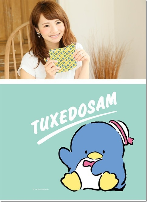 手帳型デザインケース_サンリオ_タキシードサム_画像01
