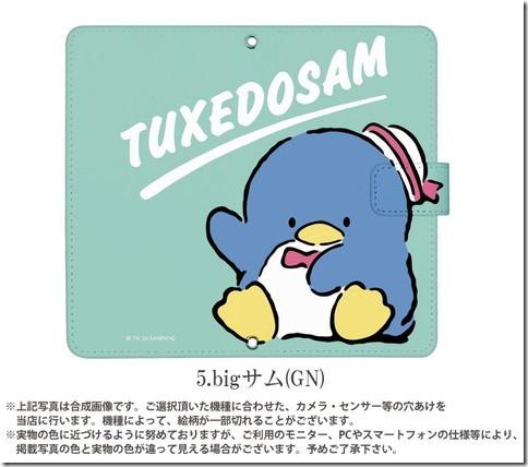 手帳型デザインケース_サンリオ_タキシードサム_画像05